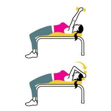 triceps extension bench