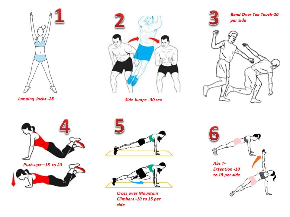 Week5 full body workout zabardast life circuit cardio floor tyukafo