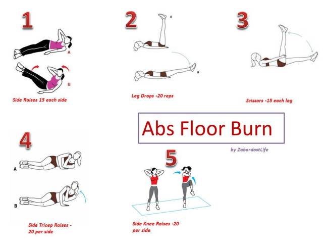 Abs Floor Burn