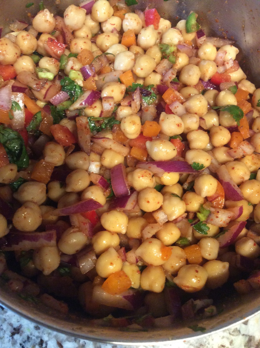 Chana Chaat 2