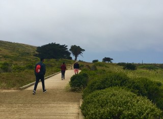Mori Point Trail Boys